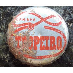 Tampinhas Antiga Cachaça Caninha Aguardente Tropeiro - A26