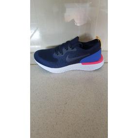 Zapatos Nike Air Epic React Azul / Fucsia Dama Y Caballero