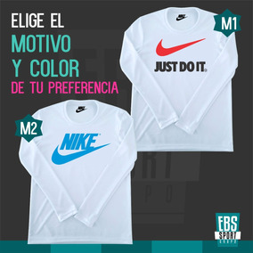 Camiseta Mangas Largas Para Niños Nike adidas Under Armour faceea22b91fb