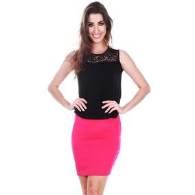 fa4fa6586 Saia Kim Kardashian Cea - Saias Femininas Coral ao melhor preço no ...