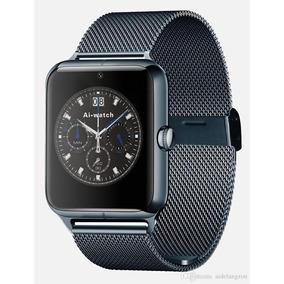 Reloj Smartwatch Z60 Sim Sd 32 Gb Acero Inox Bluetooh