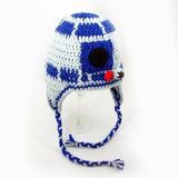 Touca R2d2 Star Wars Em Crochê - Gorro Cosplay Capacete d96f4e35913