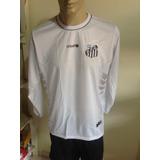 Camisa Santos Fc Manga Longa Camisas Futebol Times - Futebol no ... 7a871a79dca04