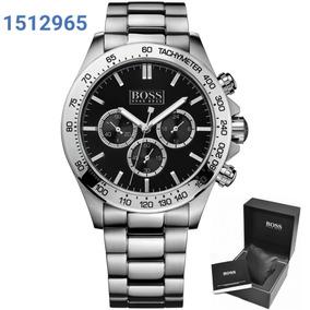 308aa756a06 Relógio Masculino Preto - Relógio Hugo Boss Masculino no Mercado ...