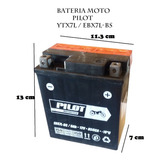 Bateria Moto Honda Tornado / Cb190 / Loncin Sx2 / Ytx7l