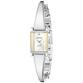 Reloj Mujer Armitron Original Plata-negro Ultima Pz Oferta! 2 vendidos -  Guanajuato · Reloj Mujer Armitron 75 5322svtt Diamond c27e57763236