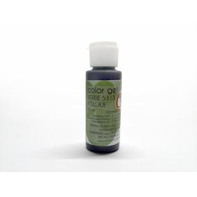 Gel Colorante Comestible Chico Verde Follaje 60 Ml (5313)