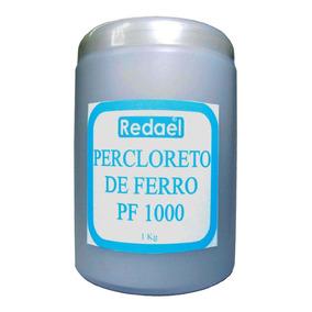 2 Percloreto De Ferro 1kg Placa Fenolite Fibra Pci Pcb Circ.