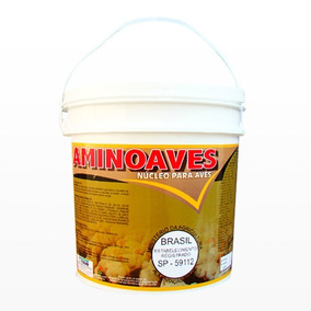 Aminoaves 5 Kg - Nucleo Para Misturar Na Ração De Aves