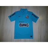 d9a03229ca Camisa Santos Azul Centenario - Camisa Santos Masculina no Mercado ...
