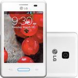 Smartphone Lg Optimus L3 Ii 4gb Câmera 3mp Branco (vitrine)