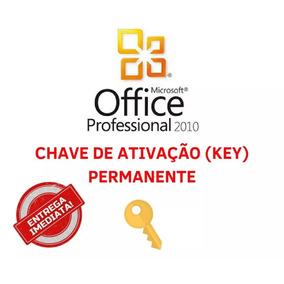 chave para ativação office 2010