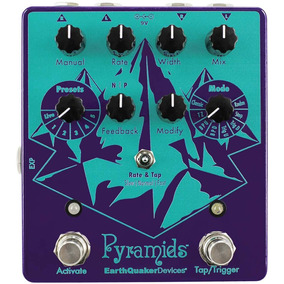 Pyramids Stereo Flanging Earthquaker Devices