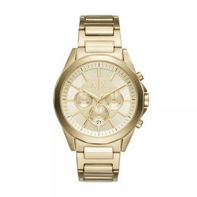 40a493f34db Relogio Ax Dourado Quadrado - Relógios no Mercado Livre Brasil