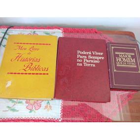 Livros Antigos De Historias Biblicas,aproximadamente 40 Anos