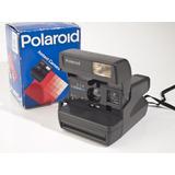 87b99587e69f5 Camera Polaroid 636 Na Caixa Funcionando Testada Close Up