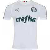 d30e499d43 Camisa Branca Treino Palmeiras Crefisa no Mercado Livre Brasil