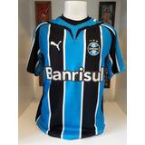 Camisa Grêmio Tricolor Puma 2009 Maxi Lopez 16 Tamanho G - Camisas ... b1e921f398532