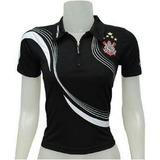 b151feaf40 Camiseta Do Corinthians Feminina Oficial no Mercado Livre Brasil