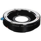 Adaptador Monte Lente Fotodiox Pro - Fuji Fujica X - Monte L