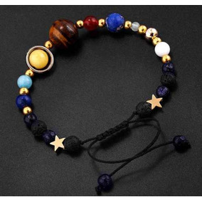 Pulsera De Sistema Solar Estrellas De Planetas Unisex