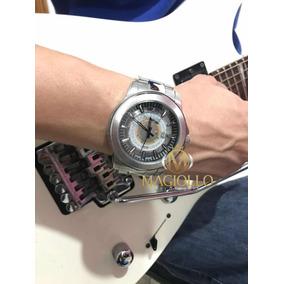 dd35b54e1c83e Relógio Technos Masculino Prata Aço Essence F06111ab 1w Orig