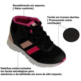 92f2a9ea4bc Tenis Botinha Feminino Dona Shape - Tênis Meninos Rosa no Mercado ...