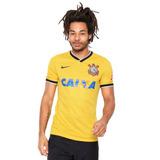 Camisa Nike Corinthians Amarela-original-outlet_sports