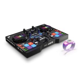 Controlador Dj Hercules Instinct P8 Party + Pulsera Ritmica