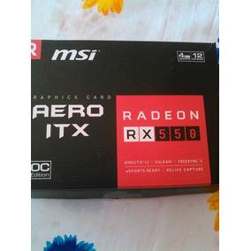 Rx 550 4gb Msi Targeta De Video 110 Trunes