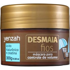 Yenzah Desmaia Fios - Máscara De Tratamento - 300g