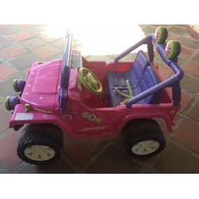 Carro Eléctrico De La Barbie Impecable Batería Dañada