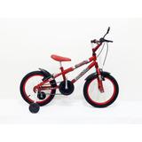 Bicicleta Aro 16 Infantil Bike Mtb Com Adesivo + Brindes