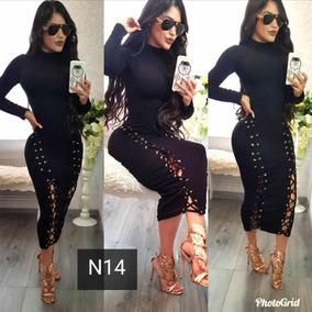 Precioso Vestido Orales Ajustable Corte Chanel