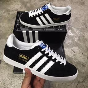 zapatillas adidas gazelle negras hombre
