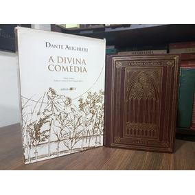 A Divina Comédia Em Prosa + Em Verso Bilíngue - Dante Aligui