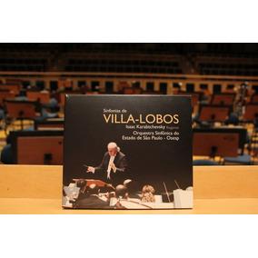 Cd Villa-lobos - Osesp - Box 6cd - Sinfonias