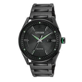Reloj Citizen Bm6985-55e Acero Inoxidable Negro Bm6985