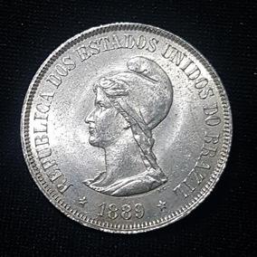 Moeda 500 Réis 1889 - Cunhadas 295.641 - Republica