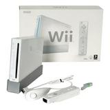 Consola Nintendo Wii Blanca + Controles Y 5 Juegos