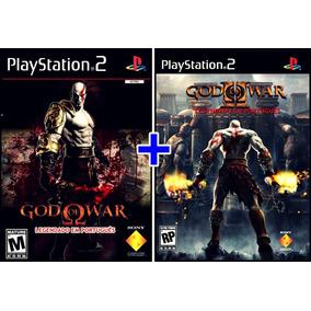 God Of War 1 E 2 Em Português Ps2 Patch 2 Jogos Frete Grátis