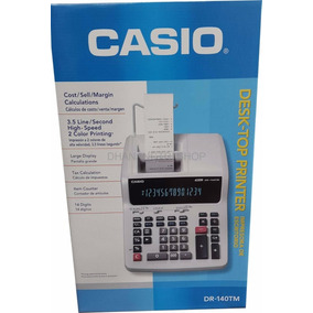 Calculadora Casio Dr 140 Tm Original 14 Digitos
