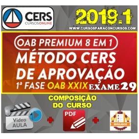 Combo Oab Xxix 29 + Xxviii 2019 - Premium Edition