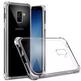 2 Capas Silicone Ant-shock Samsung A7 2018 Casquinha De Ovo
