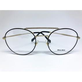 Óculos De Grau Miu Miu - Óculos no Mercado Livre Brasil 6386b46351
