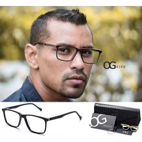 7a1881e64c25a Armação De Óculos Masculino De Lente Escura - Óculos no Mercado ...