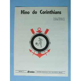Partitura Piano: Hino Do Corinthians