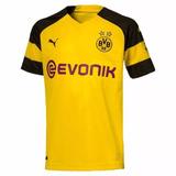 Camisa Do Borussia Dortmund 2018 Amarela no Mercado Livre Brasil 13b13bd721228