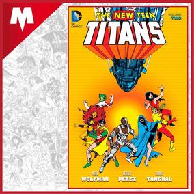 The New Teen Titans Vol 2 Dc Comics Tp Inglés Nuevo