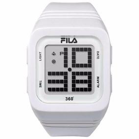 Reloj Fila 360° 38-014-103 Blanco Digital Original Unisex